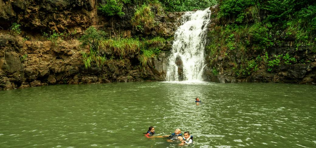 North Shore Waterfall & Adventure-Waikiki